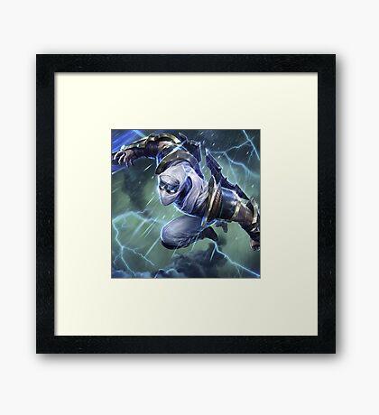 Zed Framed Print