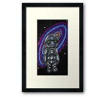 Marvin the Paranoid Android Framed Print