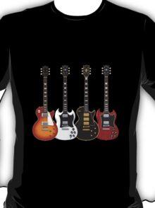 Four Electric Guitars T-Shirt