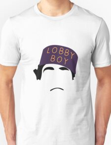 The Grand Budapest Hotel is Lobby Boy T-Shirt