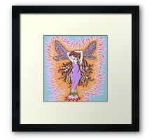 Fire Halo Framed Print