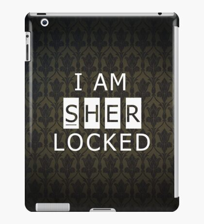 Sherlocked iPad Case/Skin