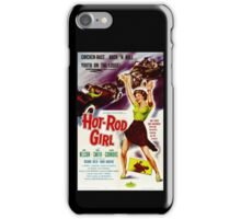 Hot Rod Girl Movie Poster iPhone Case/Skin