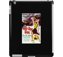 Hot Rod Girl Movie Poster iPad Case/Skin