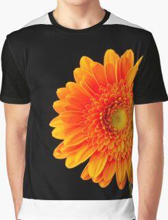 Orange Gerbera Graphic T-Shirt