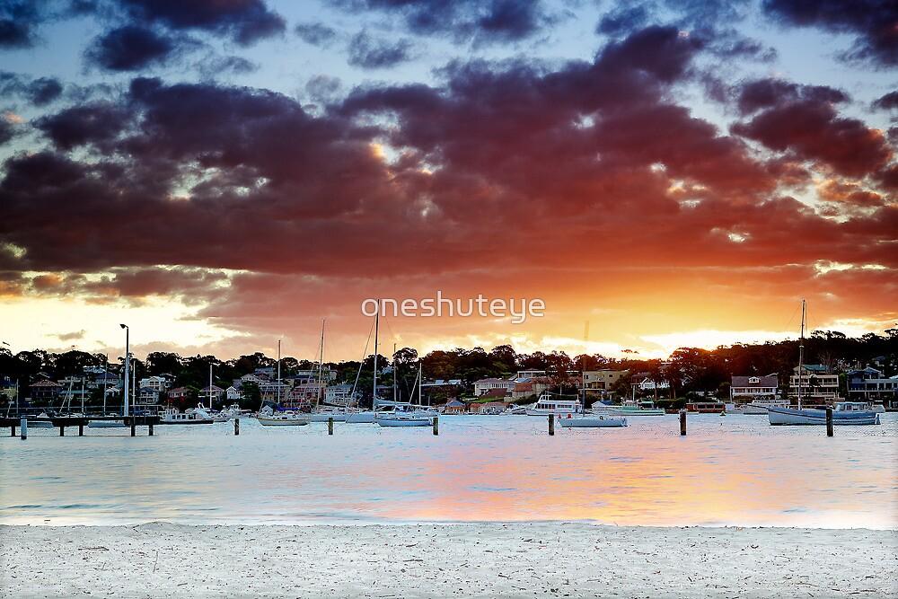 Gunamatta Bay Sunset by oneshuteye
