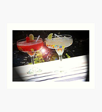 Beverage Flare Art Print