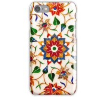 Taj Mahal Floral Design iPhone Case/Skin