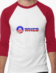 Obama Owned - U mad? Men's Baseball ¾ T-Shirt