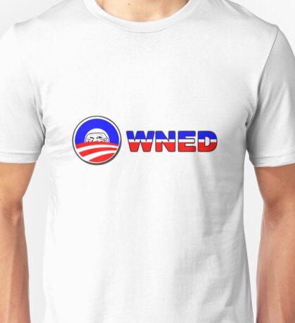 Obama Owned - U mad? Unisex T-Shirt
