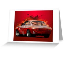 Alfa Romeo Giulia GTA Greeting Card