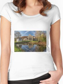 Abbey Reflection Women's Fitted Scoop T-Shirt