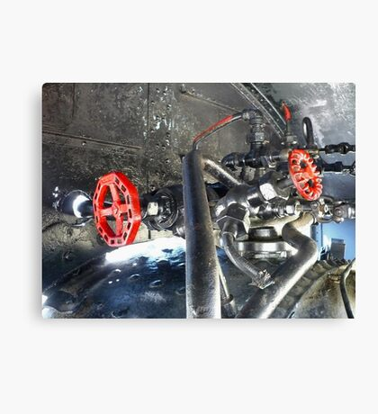 Valves and Pipes Canvas Print
