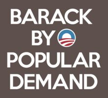 Barack By Popular Demand Kids Clothes