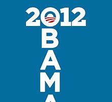 Obama 2012 by ohmyglob