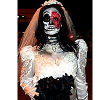 Midnight Bride Photographic Print