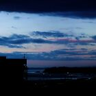 Auckland Harbour Sunset by jlv-