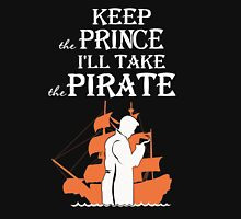 Captain Hook. Killian Jones. Unisex T-Shirt