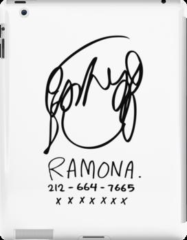 Ramona Flowers by huckblade