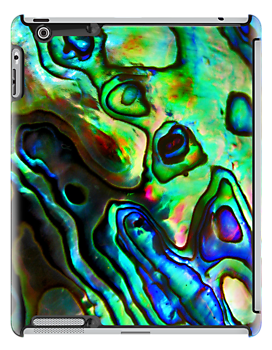 Paua iPad Case by Robyn Carter