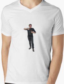 vincent le BG Mens V-Neck T-Shirt