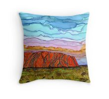 Uluru-Kata Tjuta National Park,Australia Throw Pillow