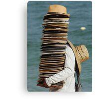 The Hat Man Canvas Print
