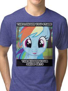 Smile At Dashie  Tri-blend T-Shirt