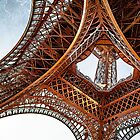 Eiffel Tower iPad Case by Robyn Carter