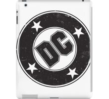 DC COMICS - VINTAGE BLACK iPad Case/Skin