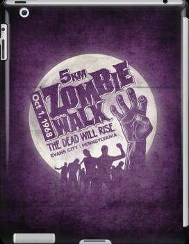Zombie Walk - White by rubyred