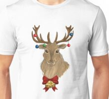 Jingle Bells Stag Unisex T-Shirt
