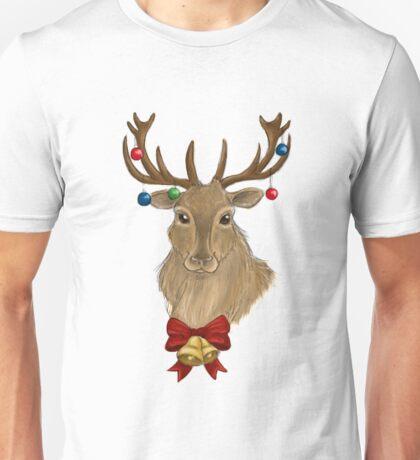 Jingle Bells Stag Unisex T-Shirt