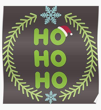Santa - HO-HO-HO Poster