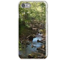 Stream through Woods Northumberland iPhone Case/Skin