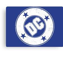 DC COMICS - VINTAGE WHITE Canvas Print