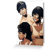 Diana Ross & the Supremes Greeting Card