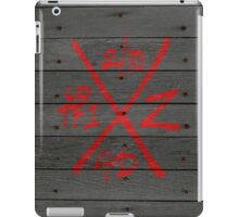 Dead Walking Zombie X-Code (BLACK) iPad Case/Skin