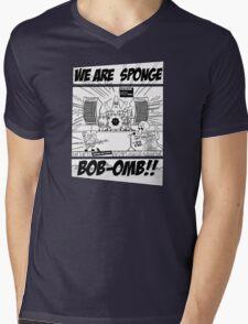 We are Sponge Bob-omb!! Mens V-Neck T-Shirt