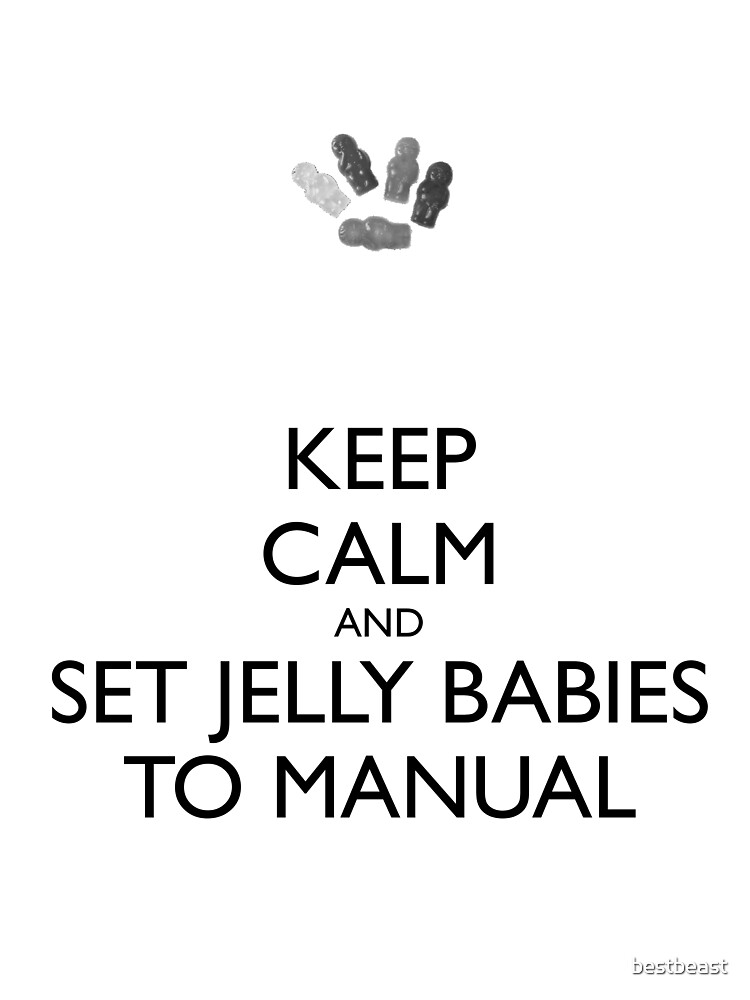 Set Jelly Babies to Manual! by bestbeast