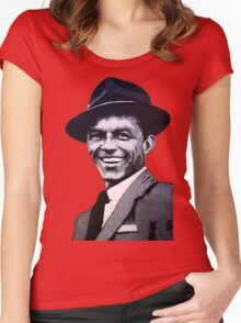 Frank Sinatra Women's Fitted Scoop T-Shirt