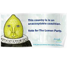 Lemon Party Poster