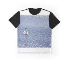 Summer Swan Graphic T-Shirt
