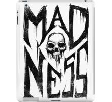 Madness - Cool Handlettering Skull design iPad Case/Skin