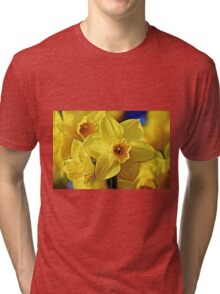 Yellow Daffodil Tri-blend T-Shirt