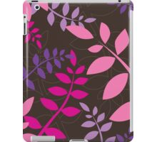 modern leaf pattern 3 iPad Case/Skin