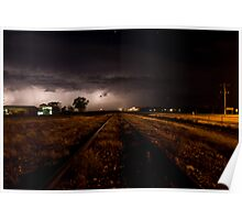 Longreach Lightshow * Longreach Queensland Poster