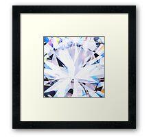 brilliant diamond Framed Print