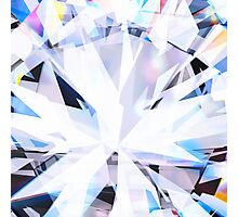 brilliant diamond Photographic Print