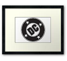 DC COMICS - BLACK Framed Print